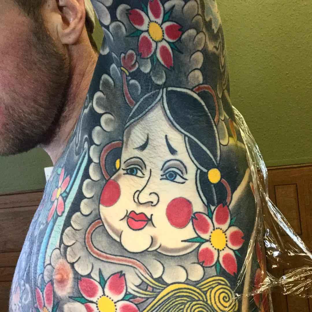 Oriental Tattoo Armpit by dickie_williams 2