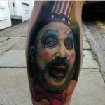 Psycho Clown Tattoo