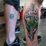 Scottish Tattoo Cover-Up