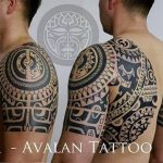 Shoulder Maori Tattoo