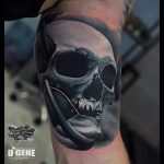 Skull Man Tattoo