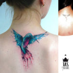 Small Hummingbird Tattoo
