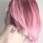 Small Nape Tattoo