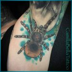 Spider Tattoo Design by @bella_tattoo