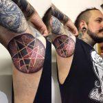 Stars Tattoo on Armpit