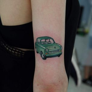 Tattoo Car