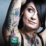 Tattoo Near Armpit