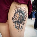 Tattoo of Lion