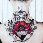 Tattoo on Back of Neck