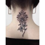 Tattoo on Nape