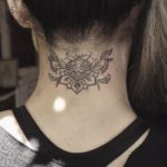 Tattoo on Nape of Neck