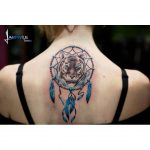 Tiger Dreamcatcher Tattoo by labirintustattoo