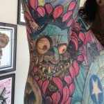 Troll Tattoo Armpit by voltron976