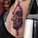 Under Armpit Tattoo