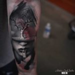 Abstract Tree Tattoo 3D