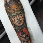 arm tattoo calypso