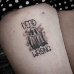 Dead Wrong Ghost Tattoo