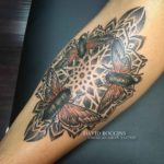 Flies Mandala Tattoo