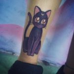 Luna Cat Tattoo