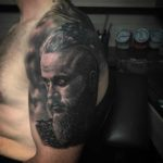 Ragnar Lodbrok Tattoo on Shoulder