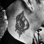 Tattoo Letter D
