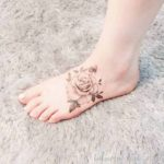 Vintage Rose Tattoo
