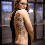 Women Side Tattoo
