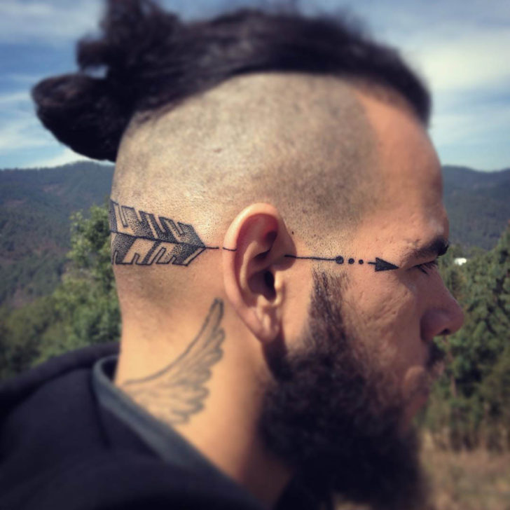 Arrow Head Tattoo by ago_fg