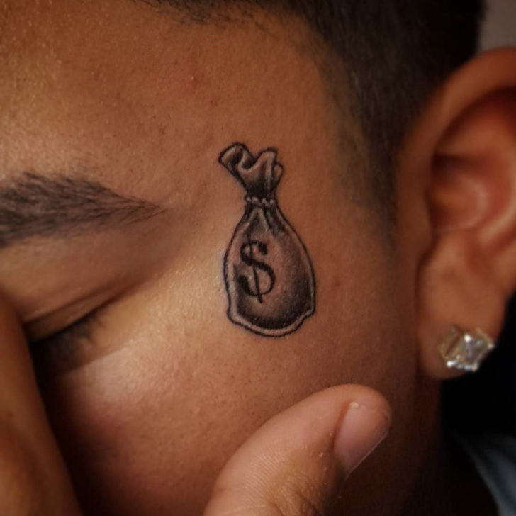 Bag of Money Tattoo by brandedbybiggss