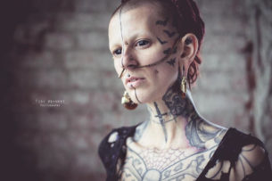 Bats Face Tattoos