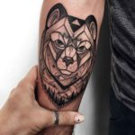 Bear Arm Tattoo