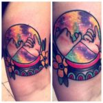 Best Friend Sister Tattoos by 3_wolv3s