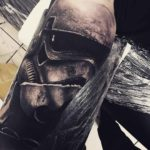 Black and Grey Stormtrooper Tattoo