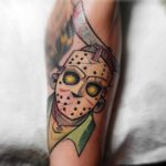 Cartoonish Jason Tattoo