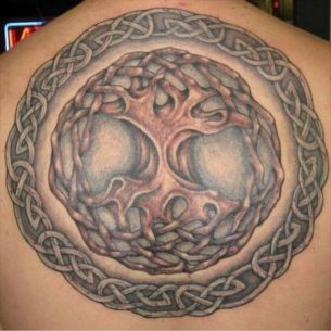 Celtic Knot Tree of LIfe Tattoo