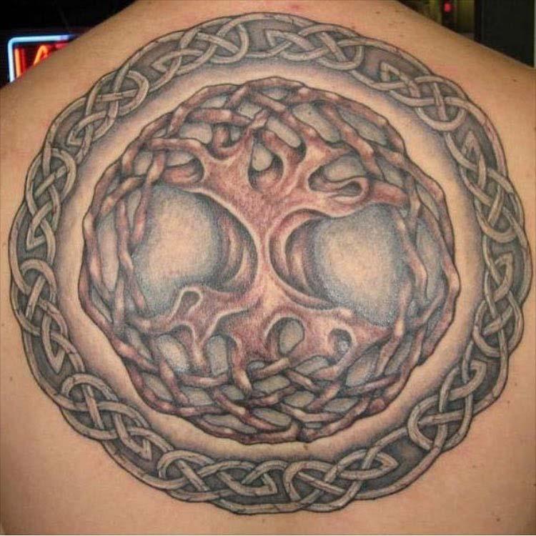 Celtic Knot Tree of LIfe Tattoo by Stefan Hagar