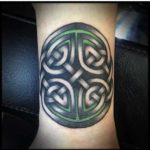 Celtic Knot Wrist Tattoo