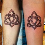 Celtic Style Couple Tattoos
