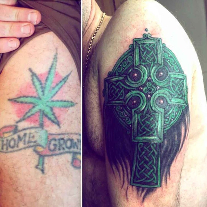 Celtic Tattoo Cover Up by Pam Mcdonald