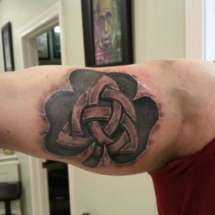 Celtic Trinity Knot Tattoo
