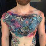 Chest Tattoo Men