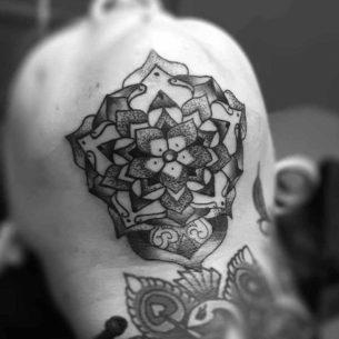 Chin Up Tattoo