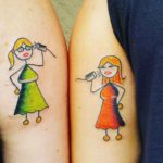 Cute Sister Tattoo Ideas