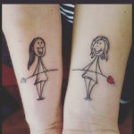 Cute Sister Tattoos