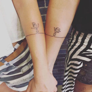 Cute Tattoos for Sisters