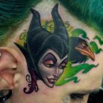 Disney Maleficent Tattoo
