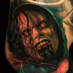 EVIL DEAD tattoo by corpsepainter