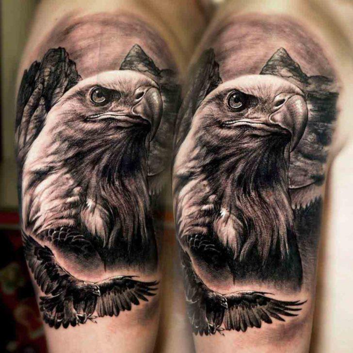 Eagle Tattoo Shoulder Best Tattoo Ideas Gallery