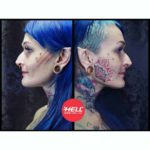 Girl Face Tattoos