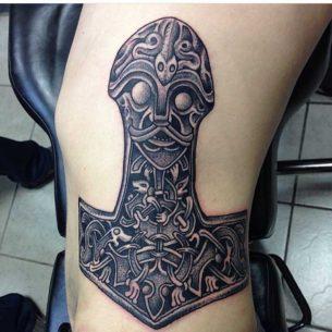 Hammer Celtic Tattoo